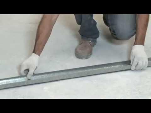 Como instalar drywall – gesso – Filme Completo